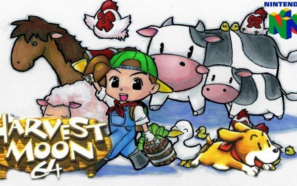 Video Game Harvest Moon 64 Harvest Moon HD Wallpaper   Background Image