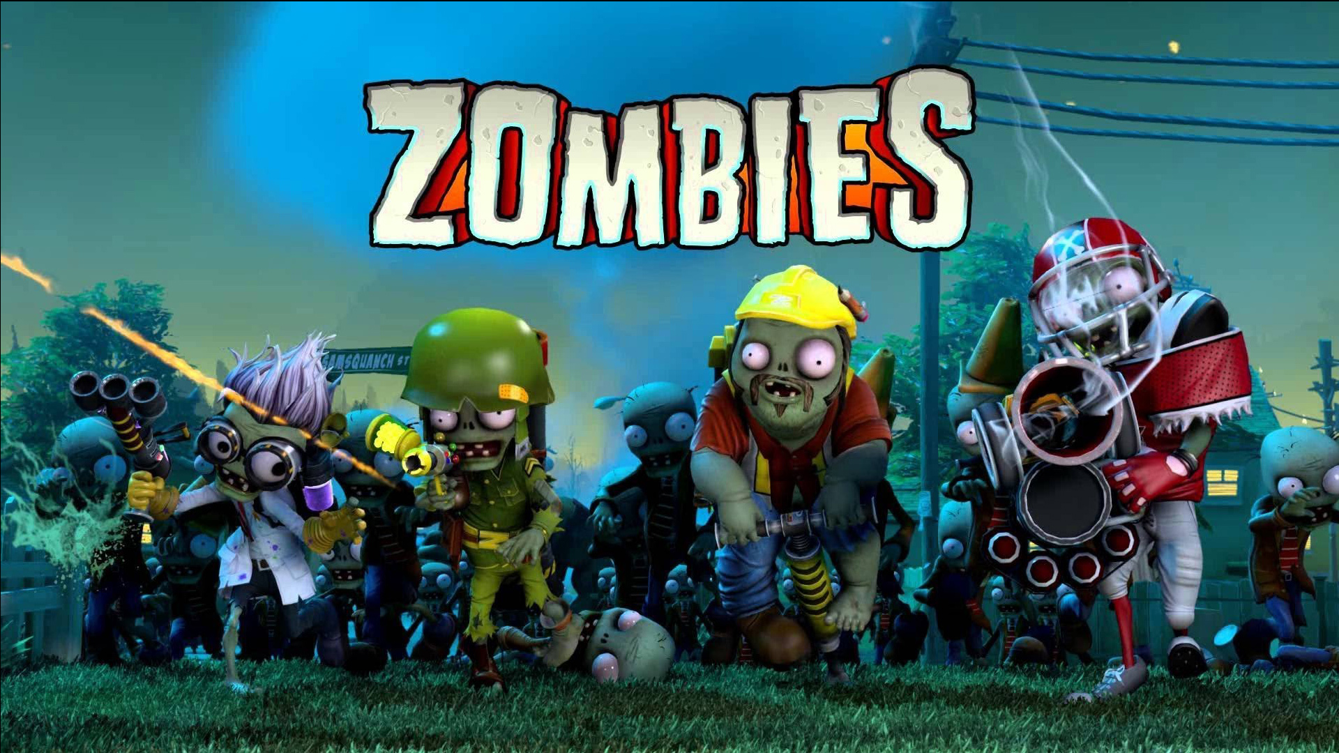 Plants vs zombies garden warfare full hd fondo de for Plante vs zombie garden warfare 2