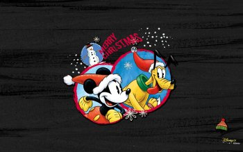 Cartoon - Mickey Mouse Christmas Wallpapers and Backgrounds ID : 520897