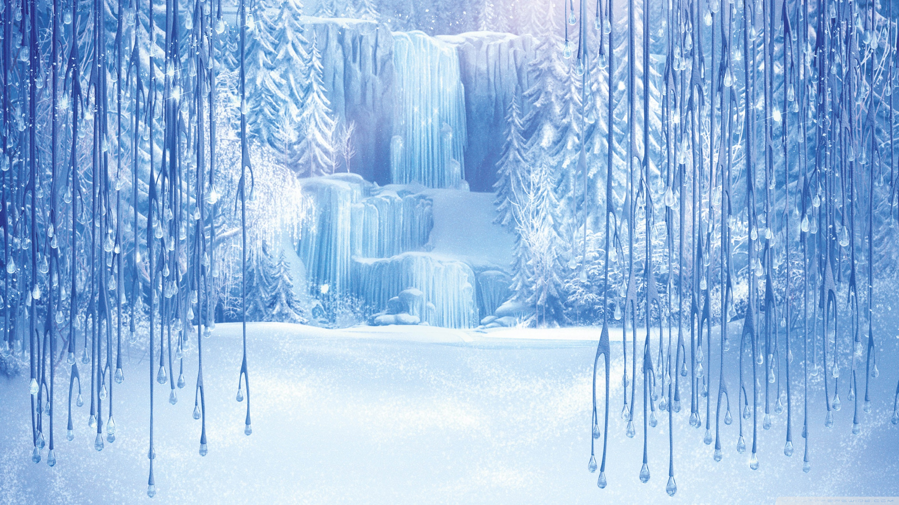 Frozen hd wallpaper achtergrond 2880x1620 id 521490 wallpaper abyss - Beautiful frozen computer wallpaper ...
