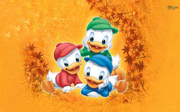 Movie Disney Huey Duck Dewey Duck Louie Duck HD Wallpaper | Background Image