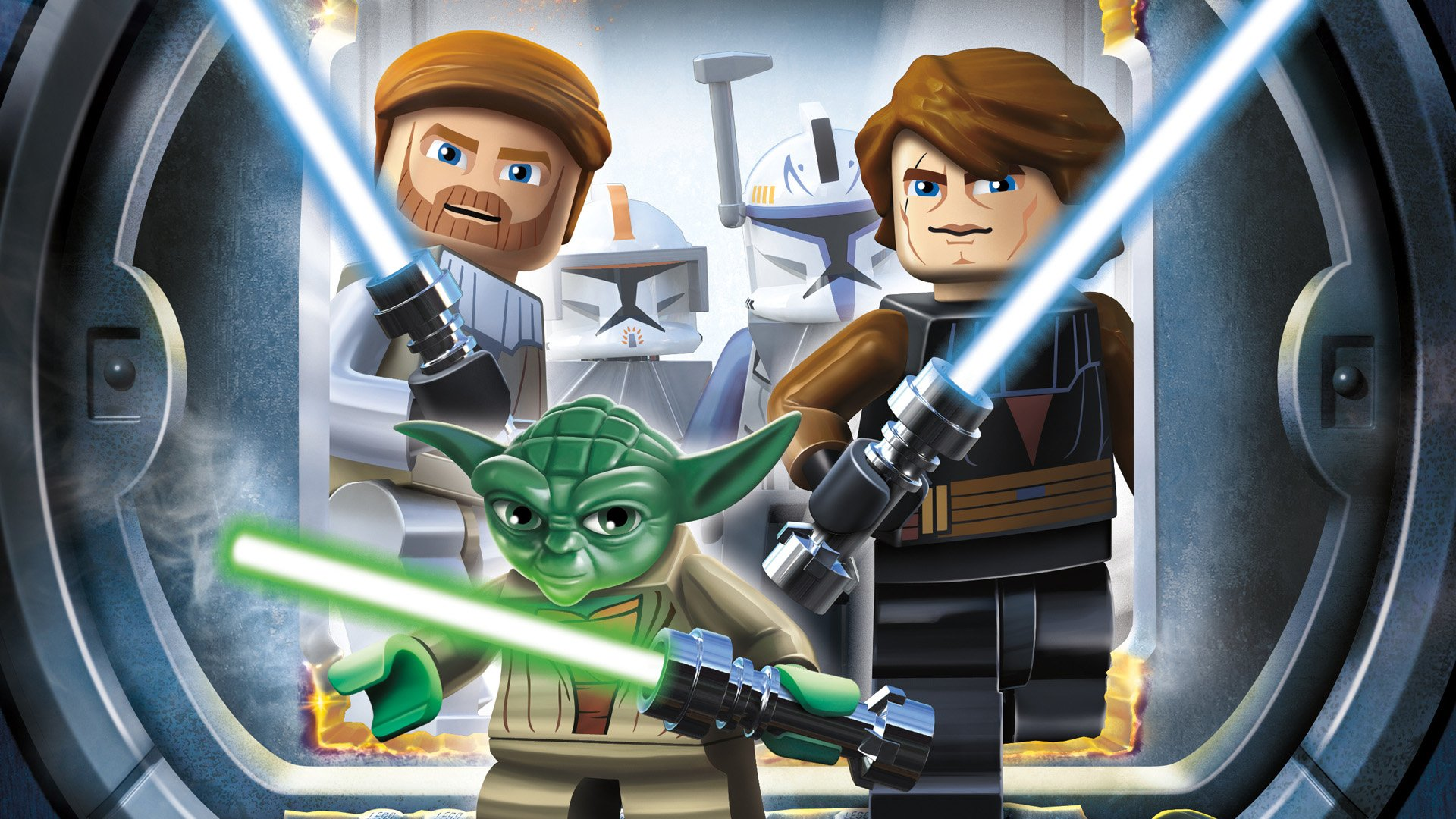 Lego Star Wars Iii The Clone Wars Fondo De Pantalla Hd