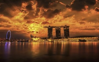 Man Made - Marina Bay Sands Wallpapers and Backgrounds ID : 522149