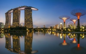 Man Made - Marina Bay Sands Wallpapers and Backgrounds ID : 522156