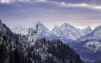 Man Made - Castle Neuschwanstein Wallpapers and Backgrounds ID : 522531