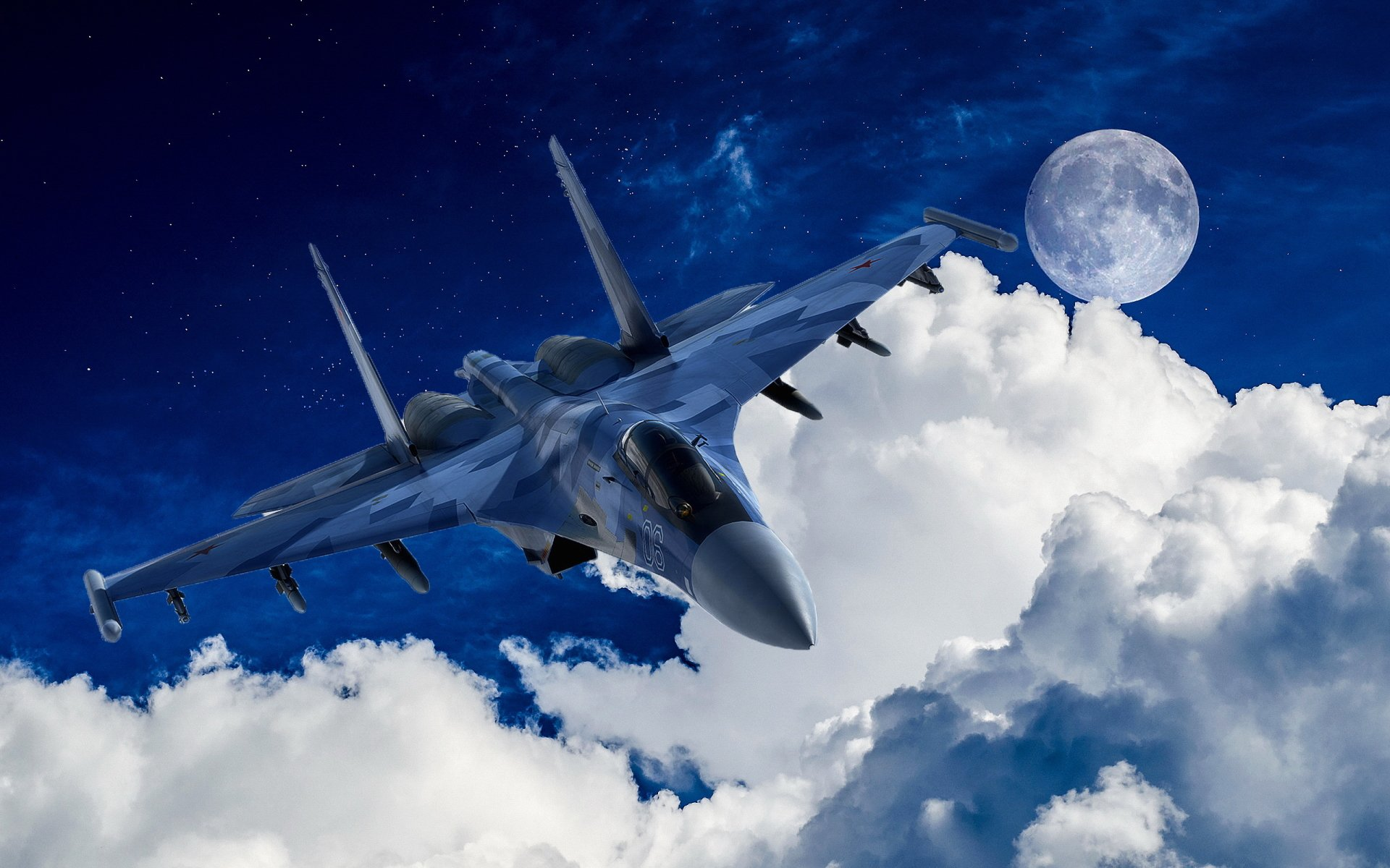 Military - Sukhoi Su-35  Military Aircraft Air Force Wallpaper