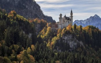 Man Made - Castle Neuschwanstein Wallpapers and Backgrounds ID : 523388