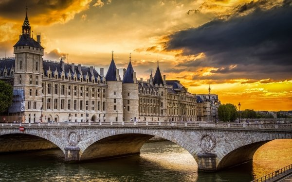 Man Made Conciergerie Palaces France HD Wallpaper   Background Image