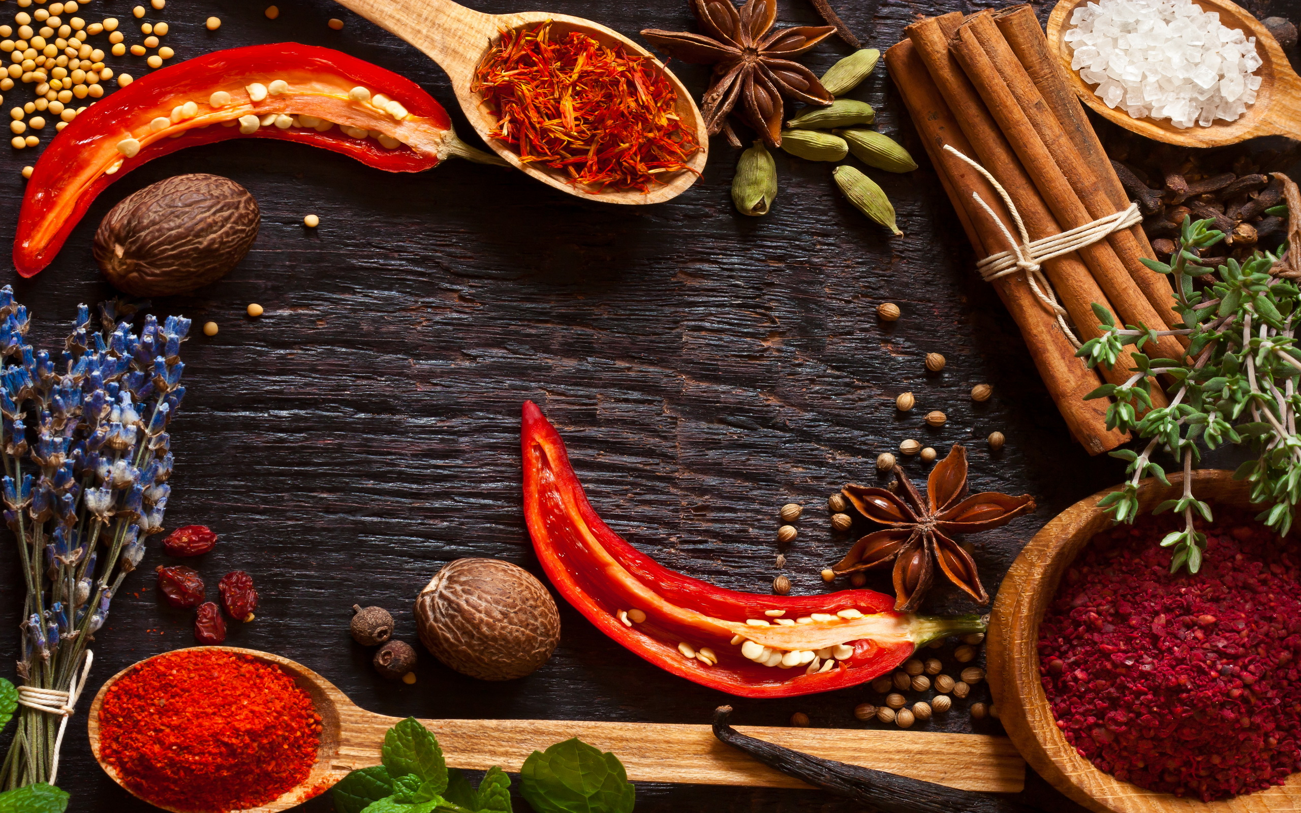 Herbs And Spices HD Wallpaper