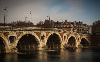 Man Made - Pont Neuf, Toulouse Wallpapers and Backgrounds ID : 524167