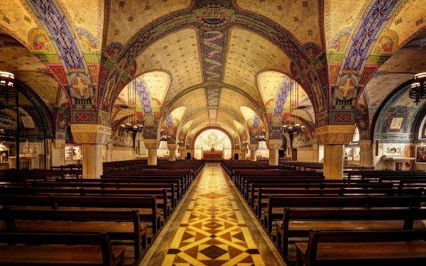 Religious Basilica of St. Thérèse, Lisieux Basilicas  HD Wallpaper   Background Image