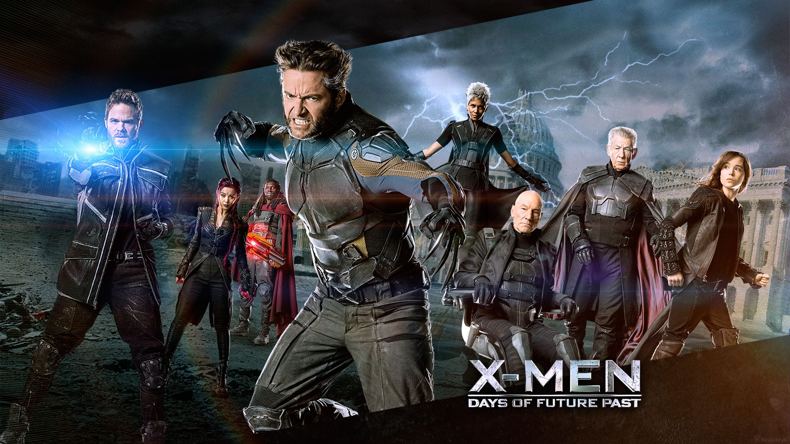 X Men Days Of Future Past Hd Wallpaper Background Image