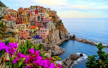 Man Made - Manarola Wallpapers and Backgrounds ID : 525310