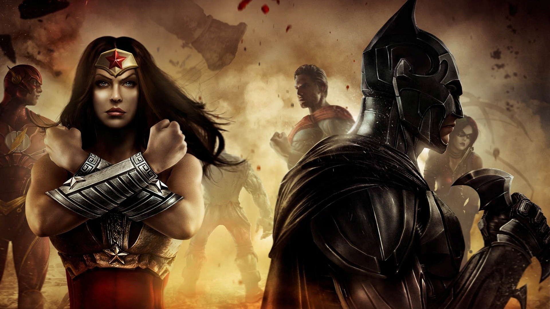 Injustice Gods Among Us Hd Wallpaper Background Image 1920x1080 Id 526262 Wallpaper Abyss