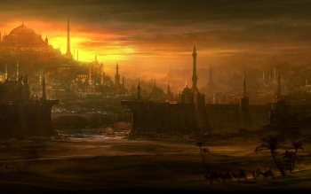 Fantasy - City Wallpapers and Backgrounds ID : 526746