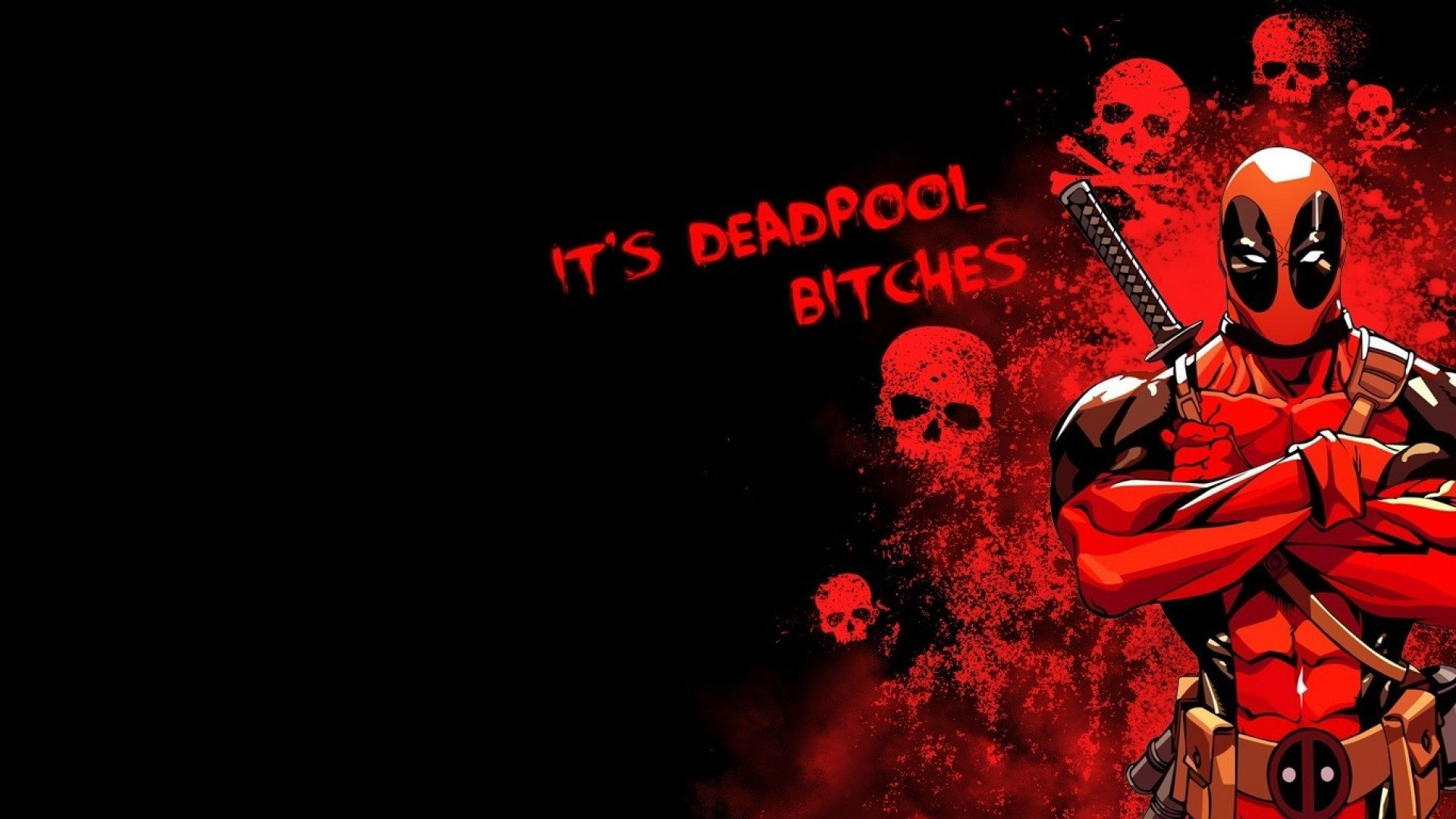 Comics - Deadpool  Wallpaper