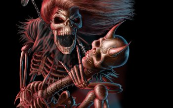 Dark - Skeleton Wallpapers and Backgrounds ID : 527053