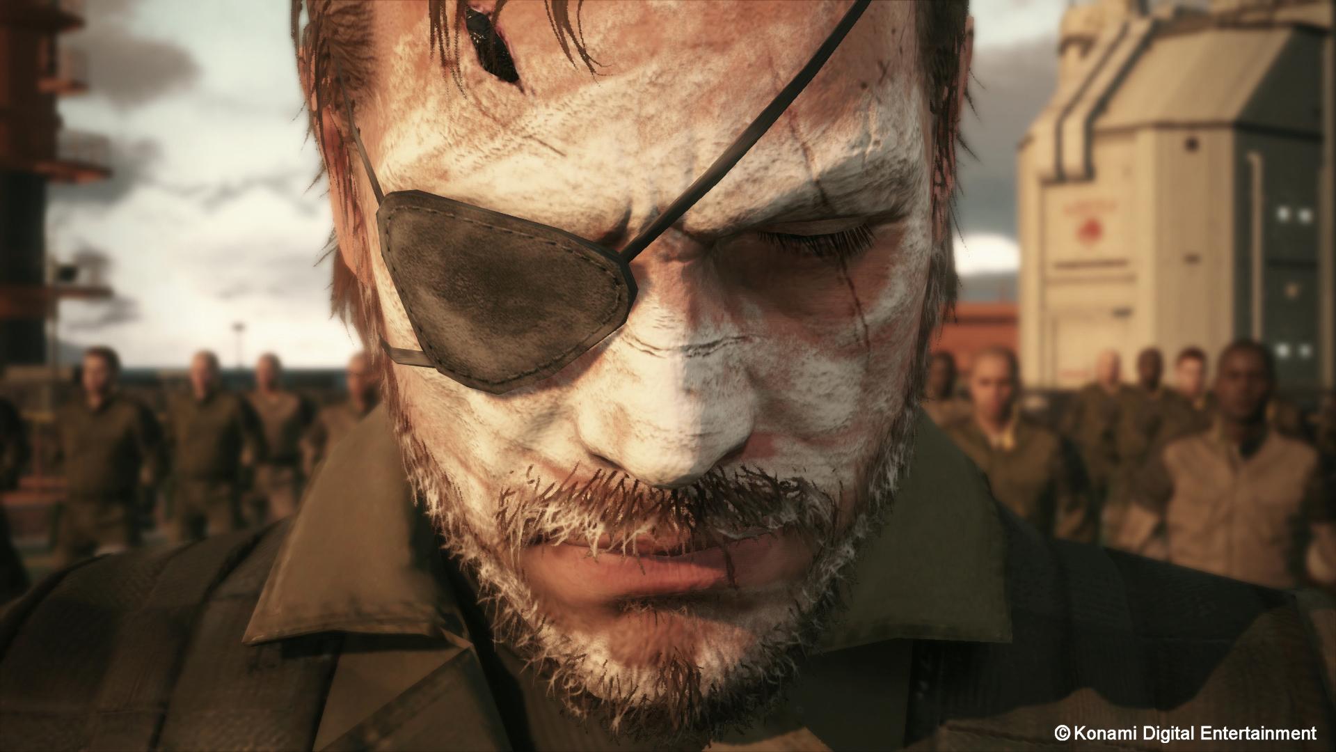 Metal Gear Solid V The Phantom Pain Hd Wallpaper