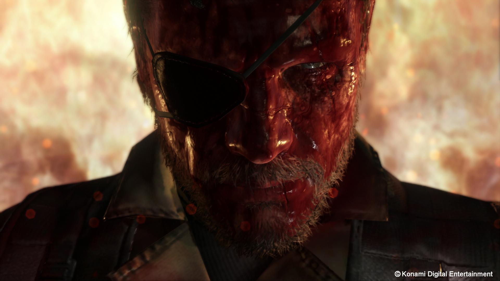 Metal Gear Solid V The Phantom Pain Hd Wallpaper Background