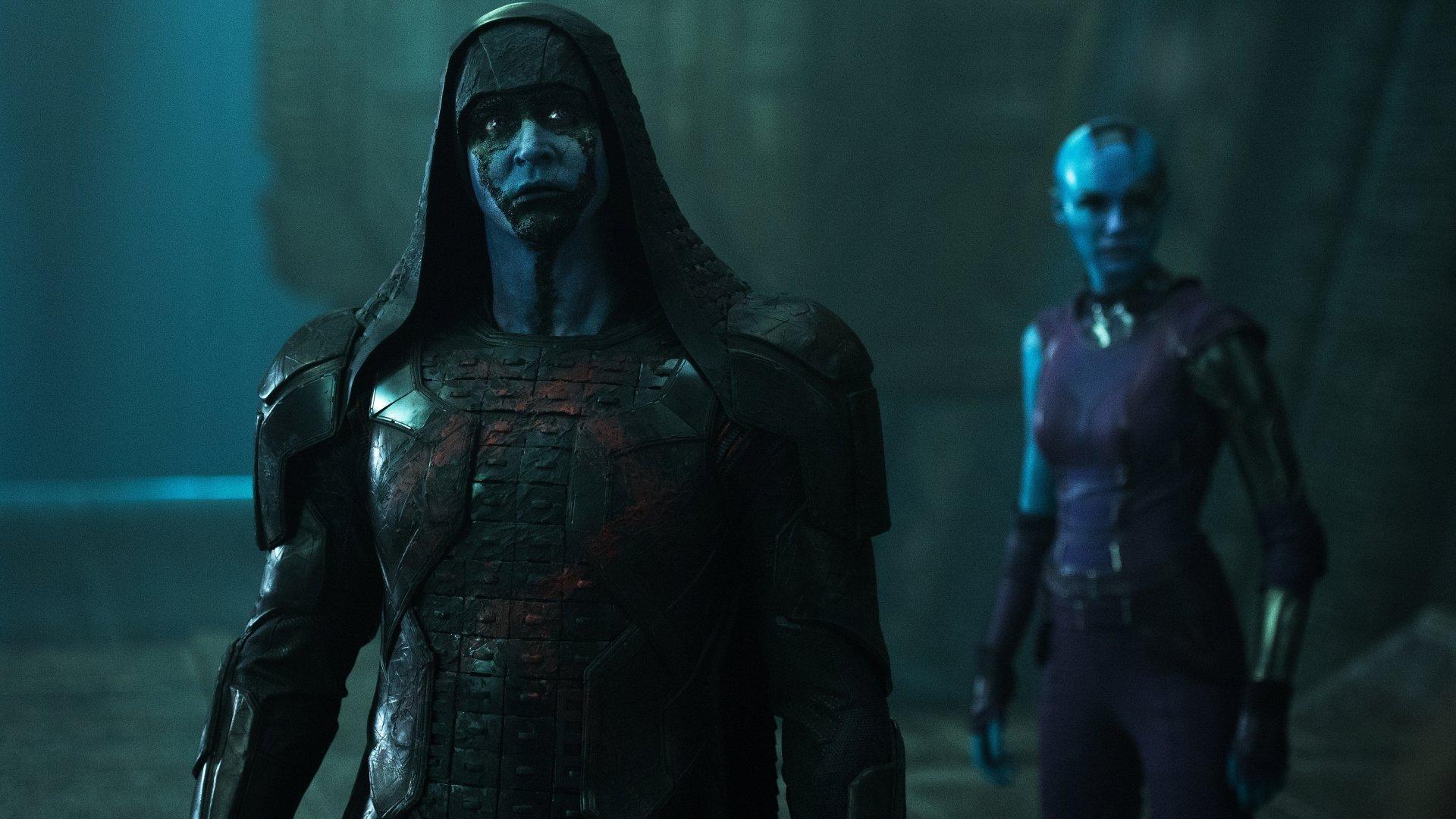 Movie - Guardians of the Galaxy  Lee Pace Karen Gillan Nebula (Marvel Comics) Ronan the Accuser Wallpaper
