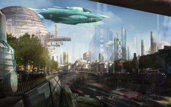 Sci Fi - City Wallpapers and Backgrounds ID : 528298