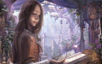 Fantasy - Women Wallpapers and Backgrounds ID : 528453