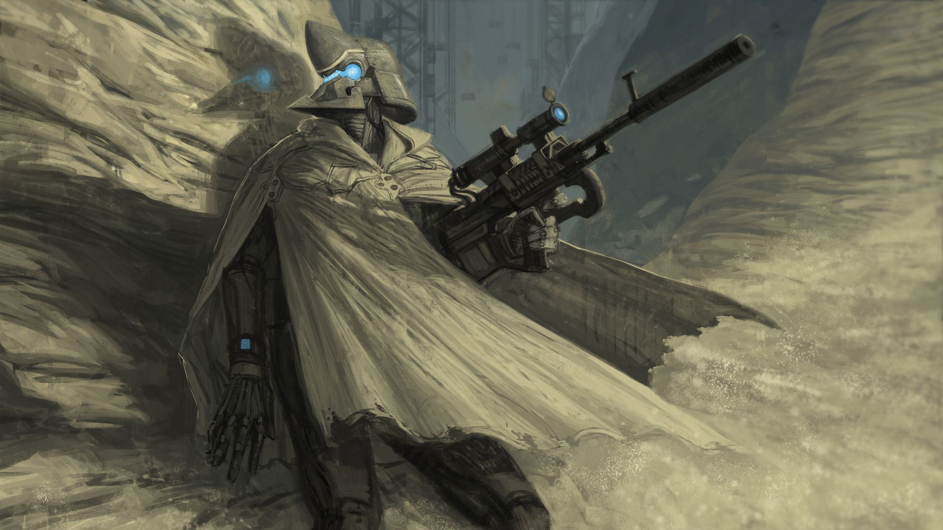 Sniper Full HD Wallpaper And Background Image