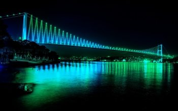 Man Made - Bosphorus Bridge Wallpapers and Backgrounds ID : 529878