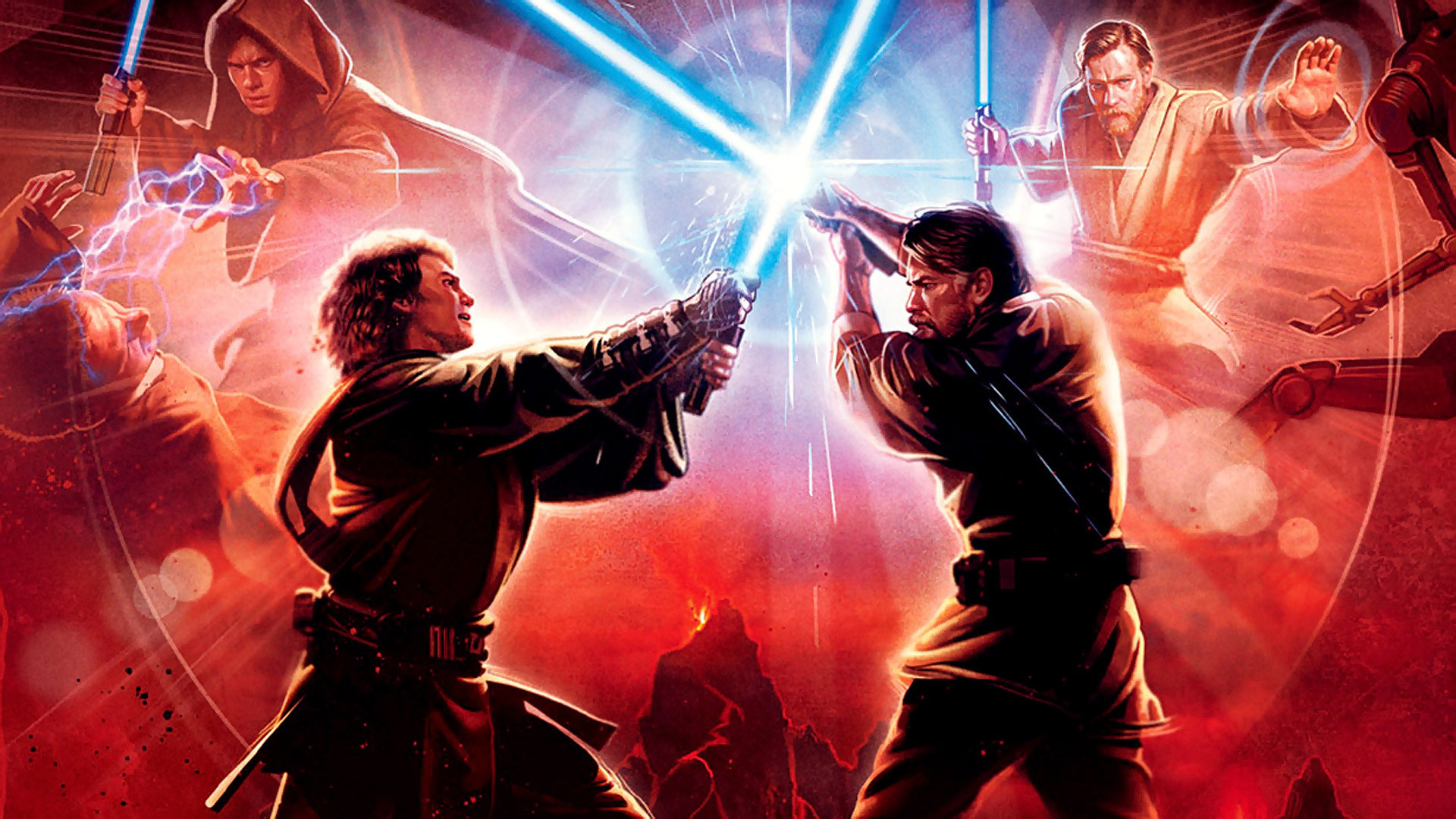 Star Wars Episode Iii Revenge Of The Sith Hd Wallpaper Background Image 1920x1080 Id 530478 Wallpaper Abyss