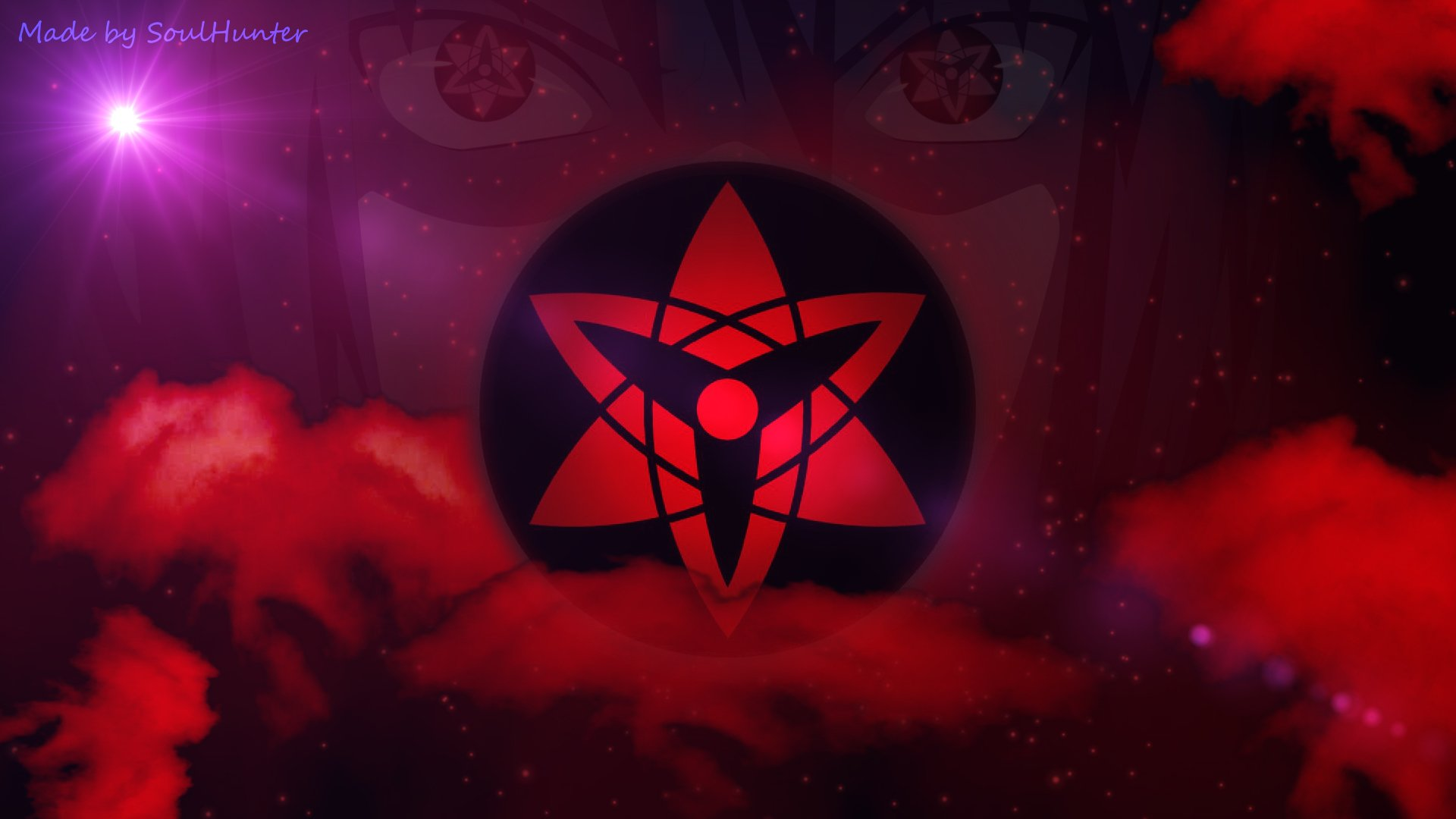Sasuke Uchiha Sharingan HD Wallpaper