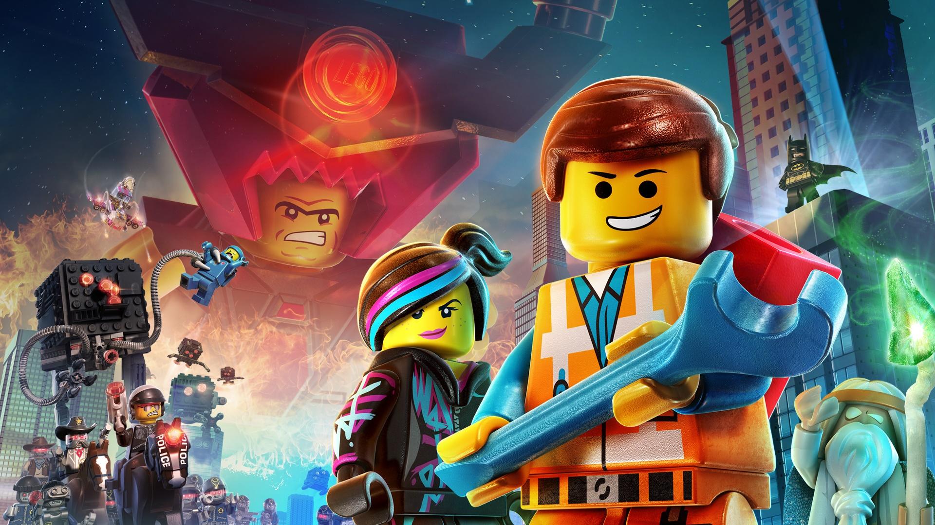 The Lego Movie Videogame Hd Wallpaper Hintergrund 1920x1080 Id