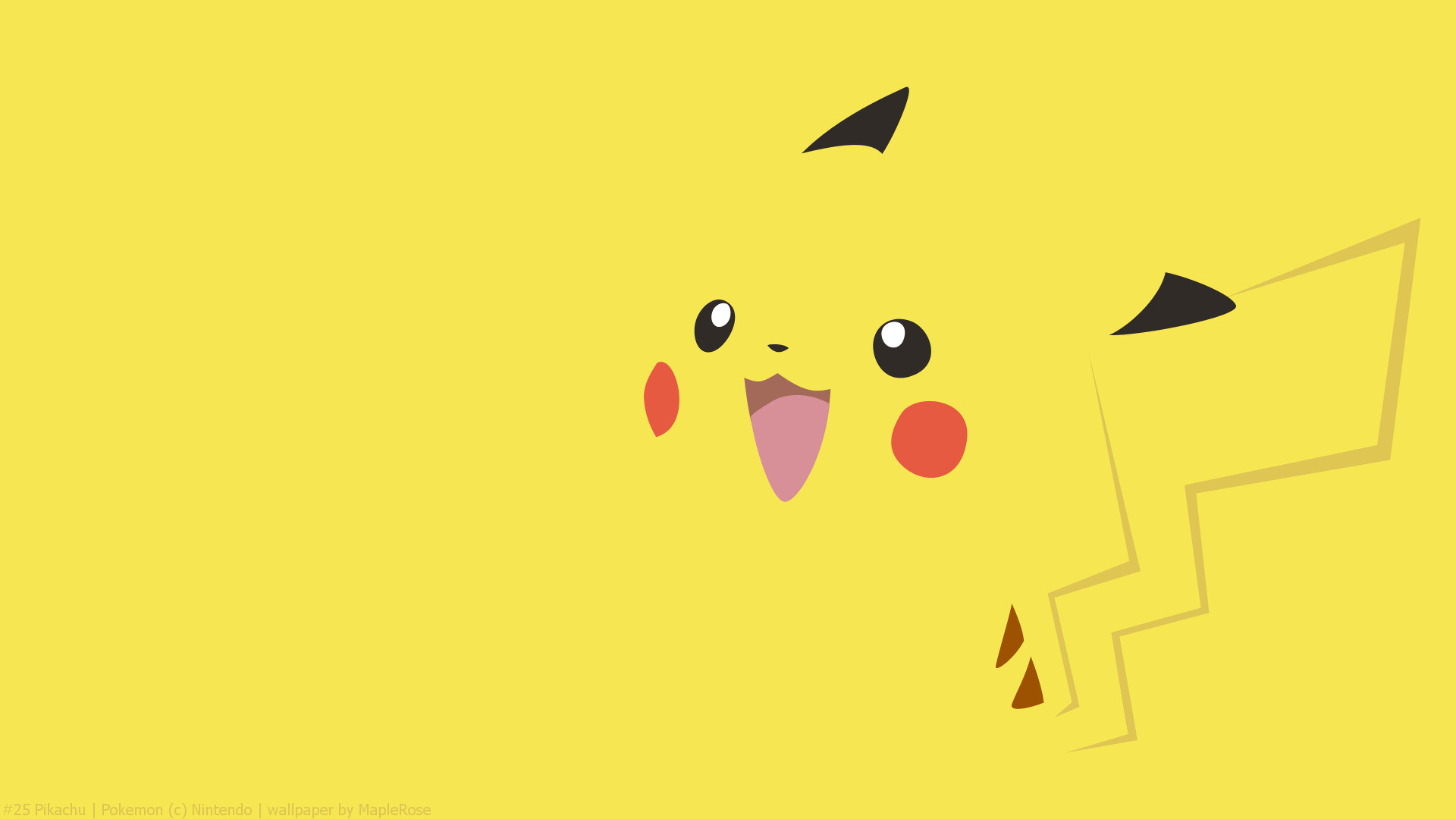 Pokemon Yellow Special Pikachu Edition Full HD Wallpaper And