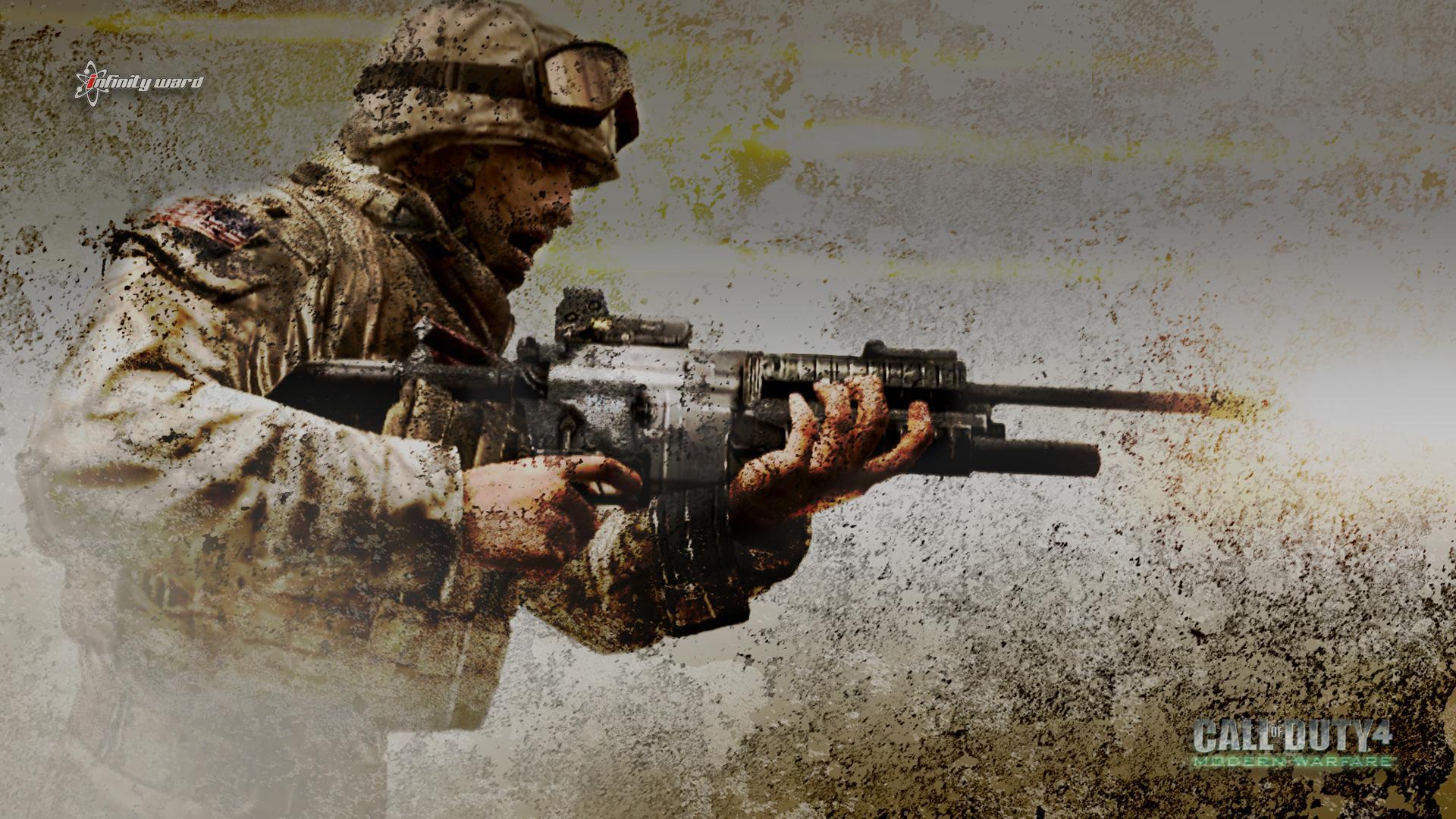 Call Of Duty 4: Modern Warfare HD Wallpaper | Background ...
