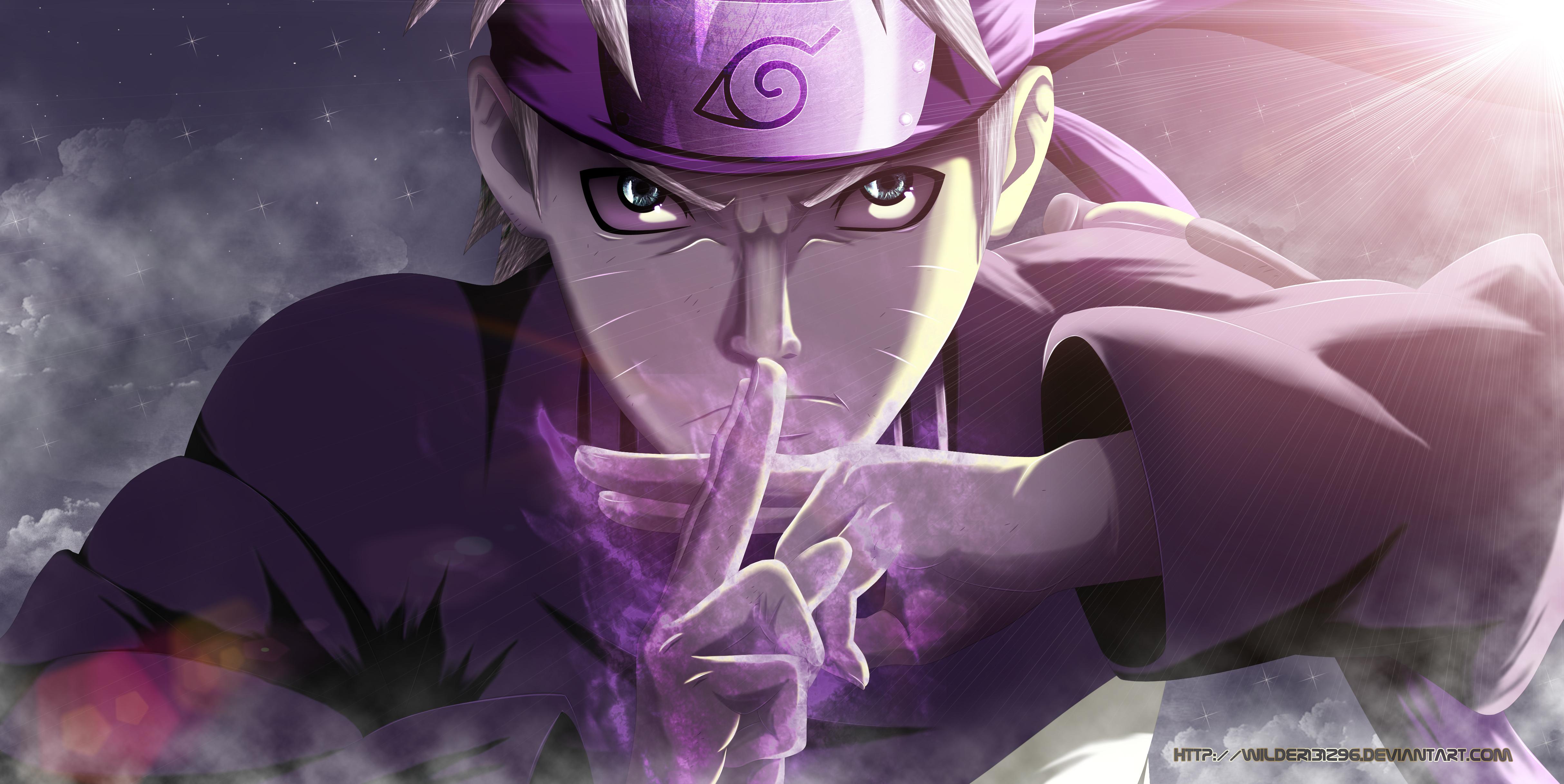 Naruto New Powers 4k Ultra Hd Wallpaper Background Image