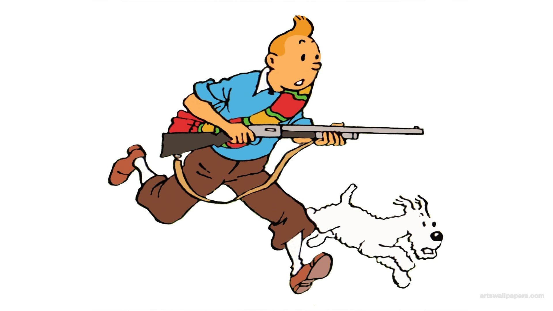 Video Game - Tintin in Tibet  Wallpaper