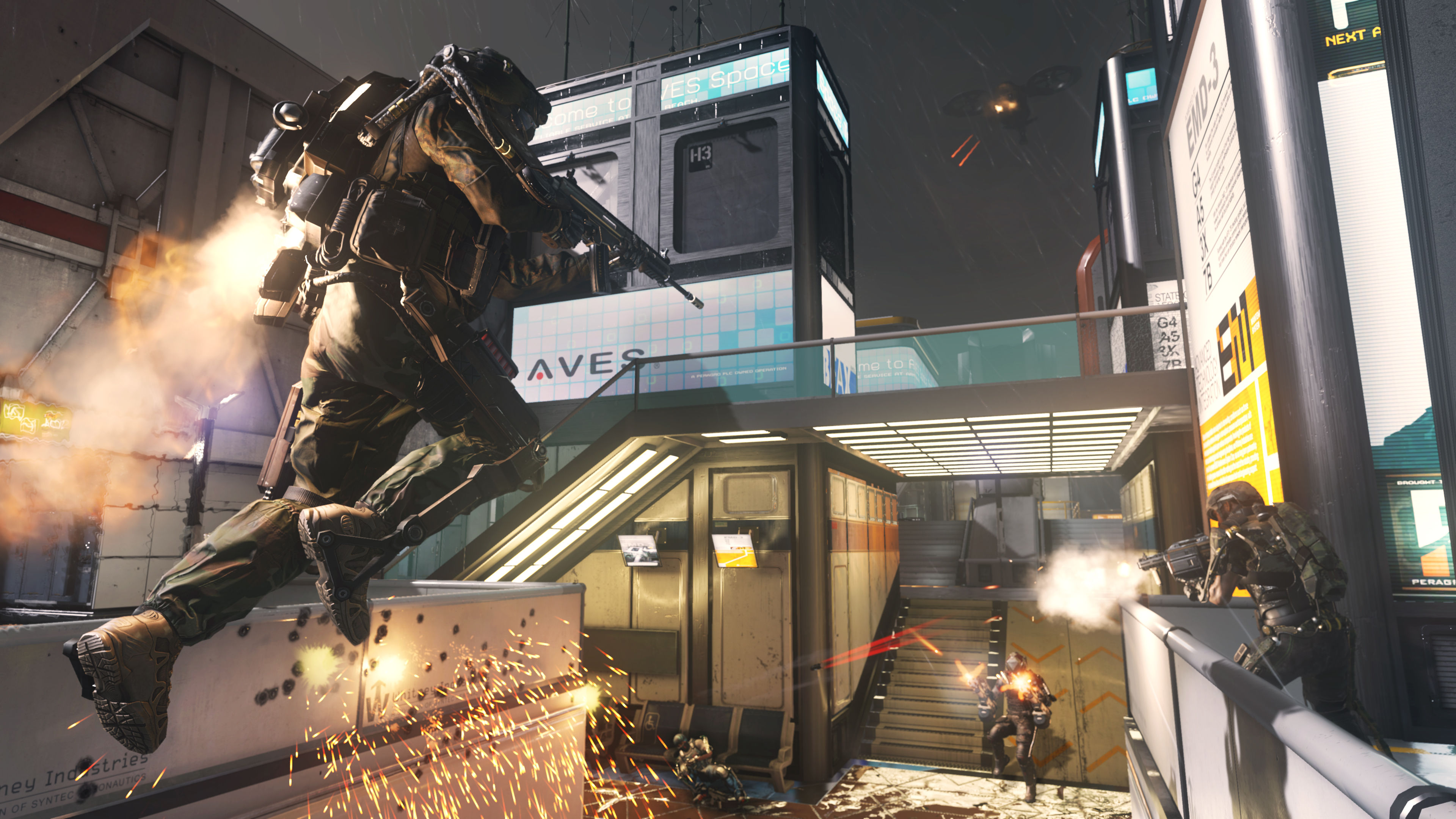 Call Of Duty Advanced Warfare HD Wallpapers Backgrounds