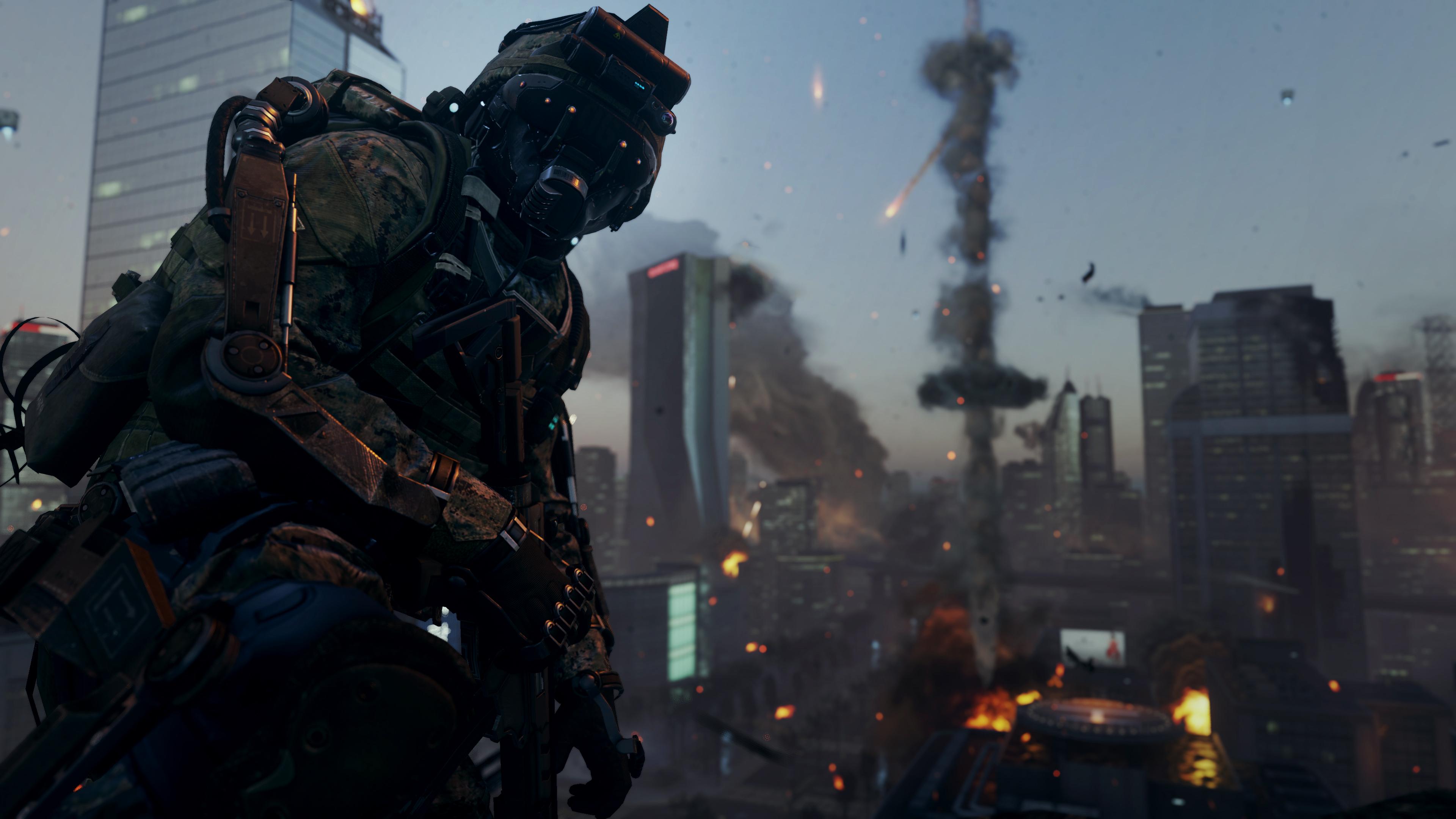 Call Of Duty: Advanced Warfare 4k Ultra HD Papel De Parede
