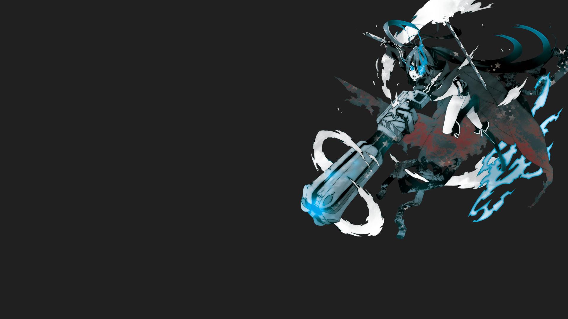 anime black rock shooter wallpaper