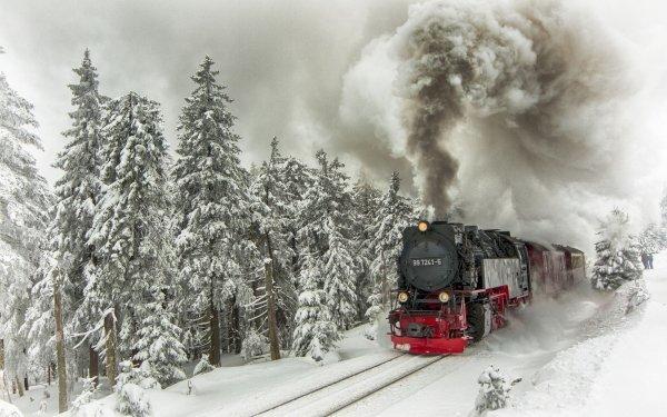 Vehicles Locomotive HD Wallpaper   Background Image