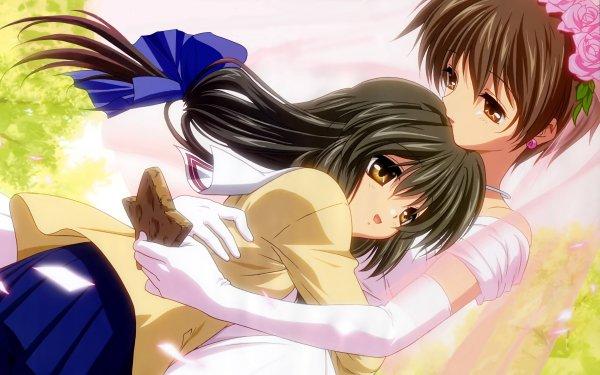 Anime Clannad Fuuko Ibuki Kouko Ibuki HD Wallpaper | Background Image