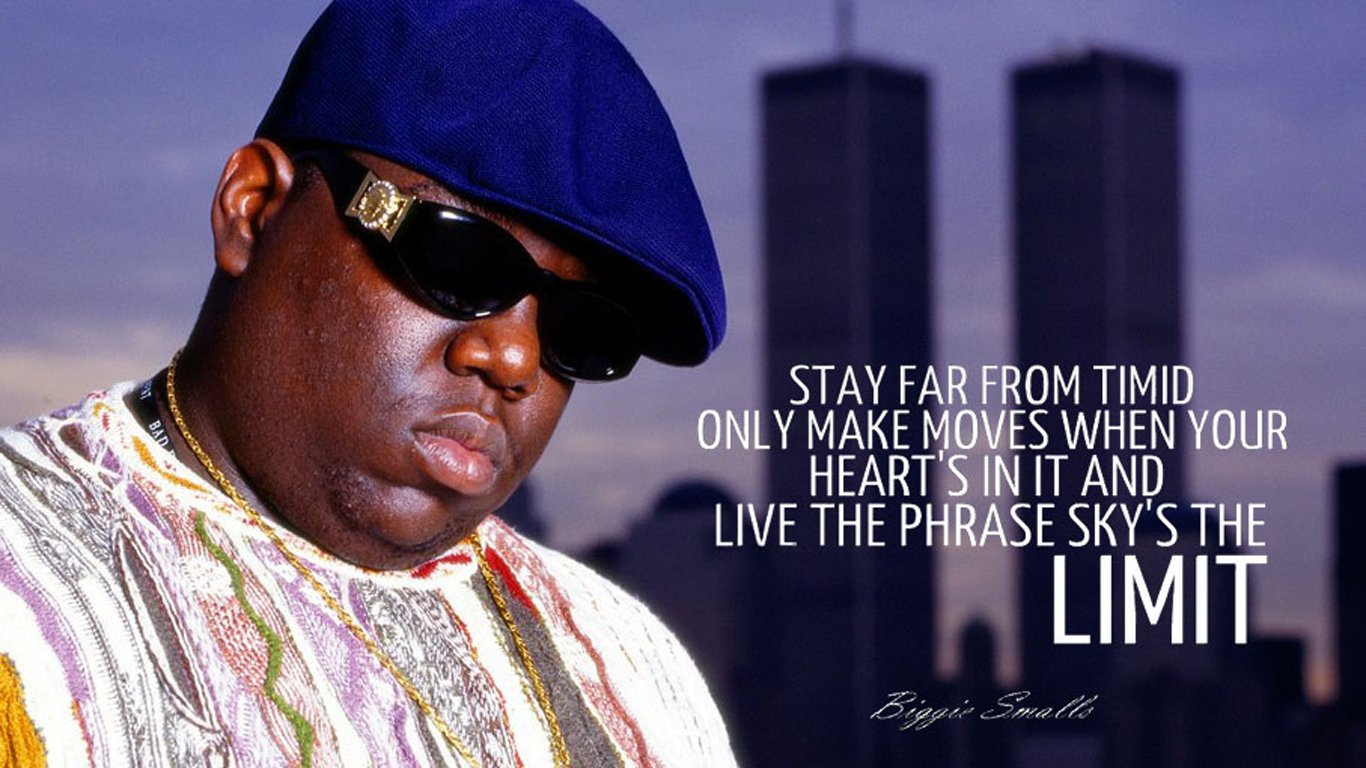 biggie smalls sky 39 s the limit computer wallpapers desktop