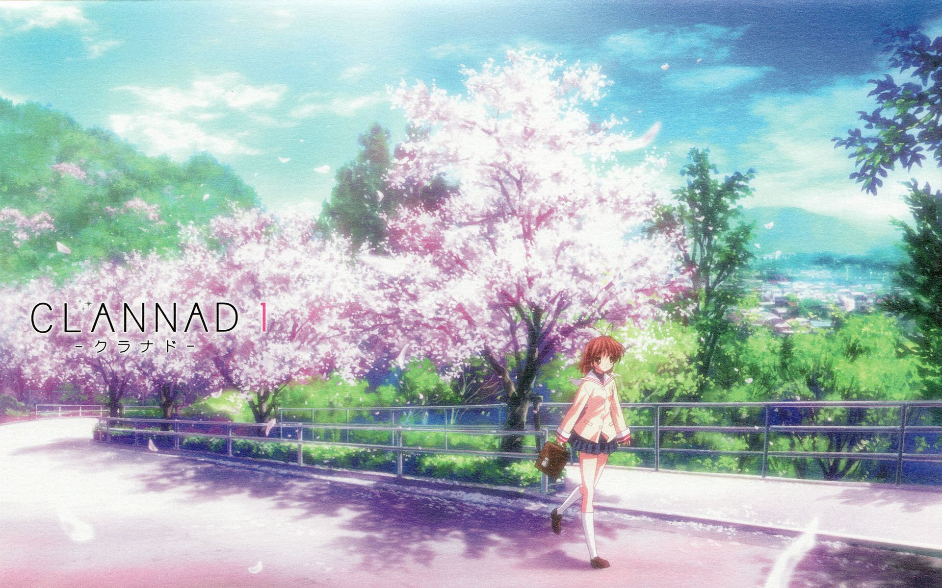 Anime - Clannad  Anime Nagisa Furukawa Wallpaper