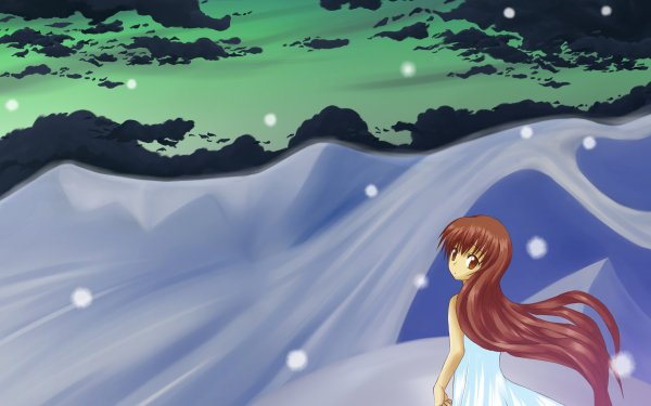 Anime Clannad Girl from the Illusionary World HD Wallpaper | Background Image