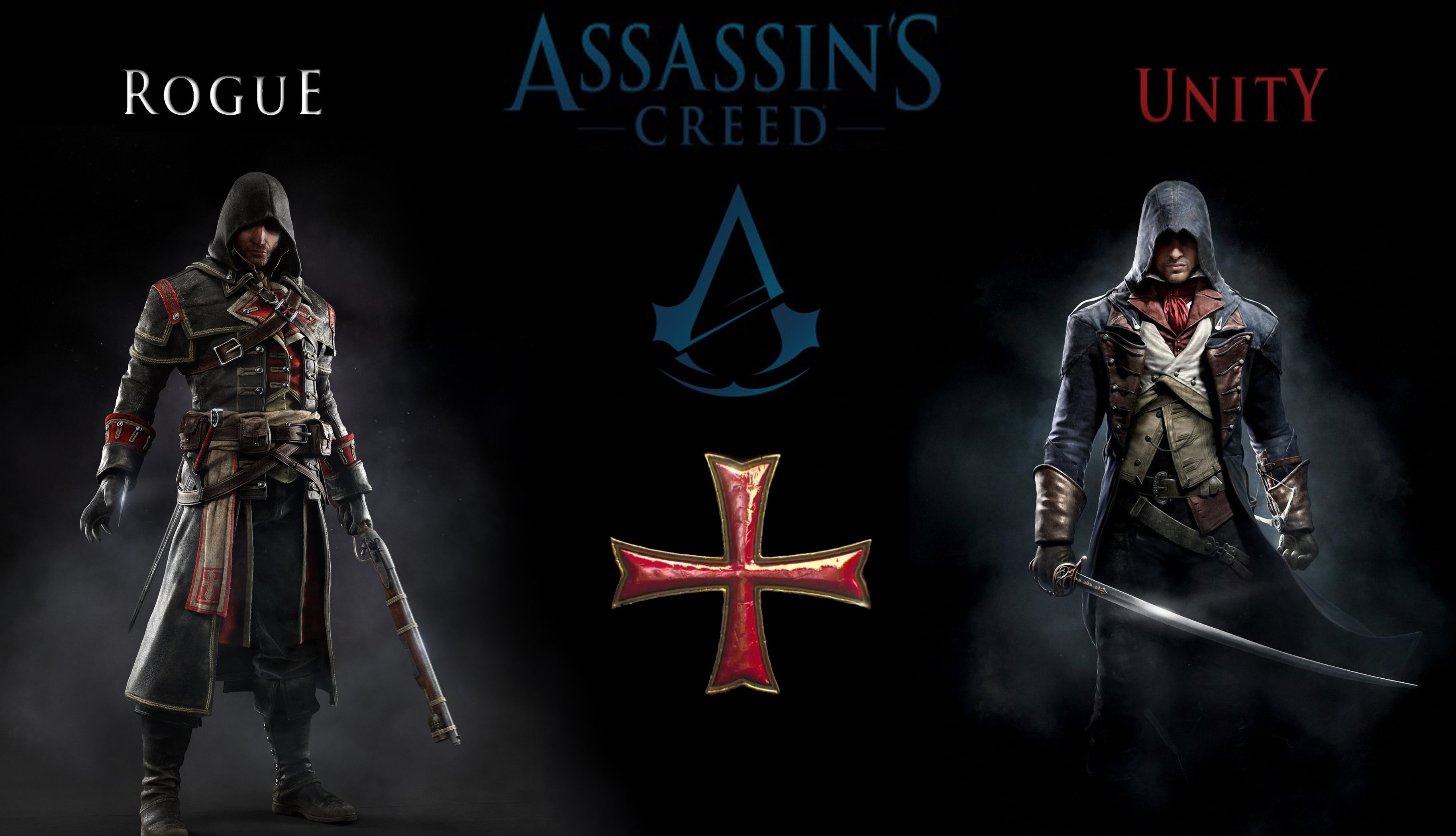 AC Unity Rough Full HD Wallpaper And Background Image