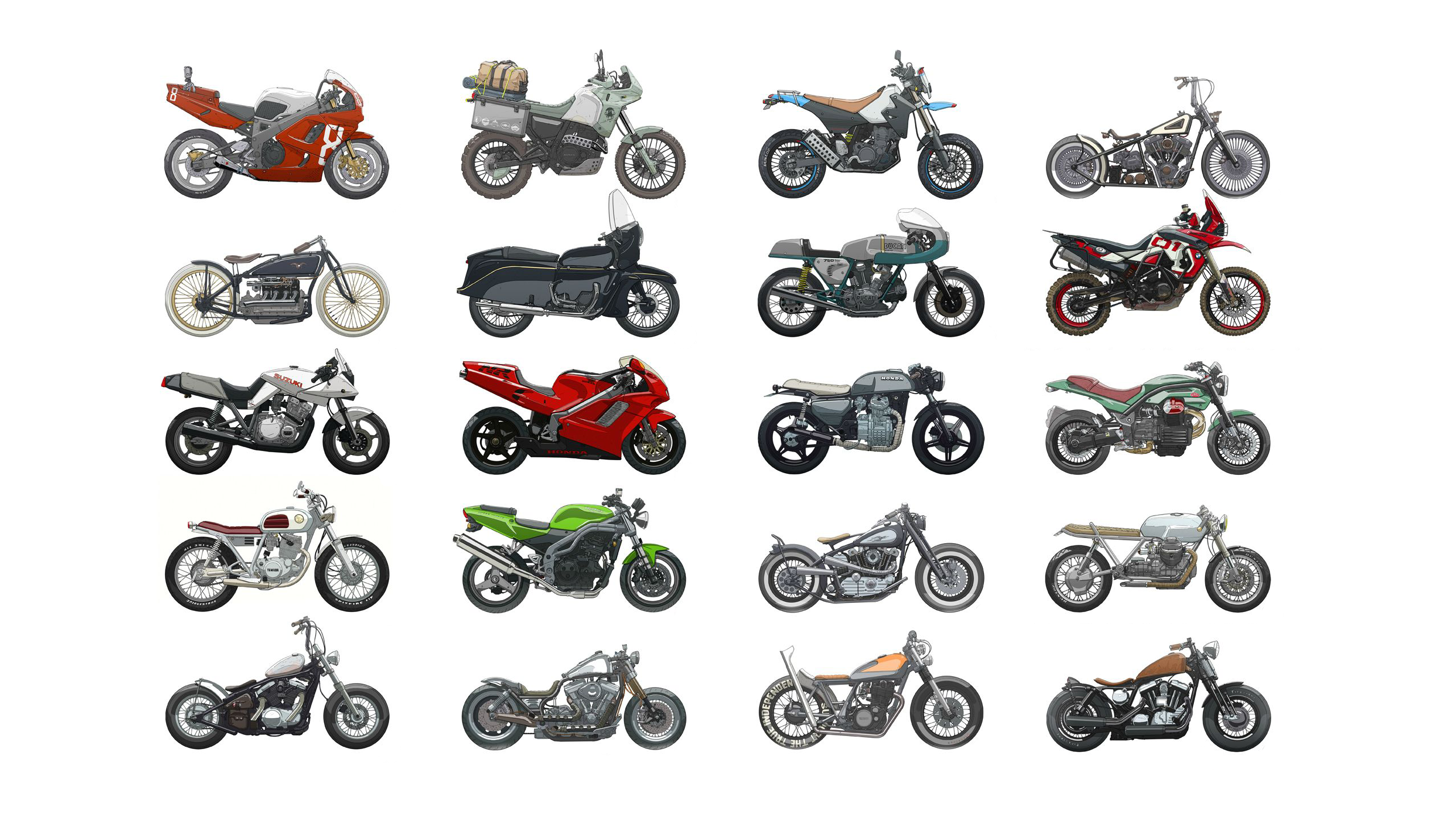 The Complete Guide to Motorcycle Types  RideApart