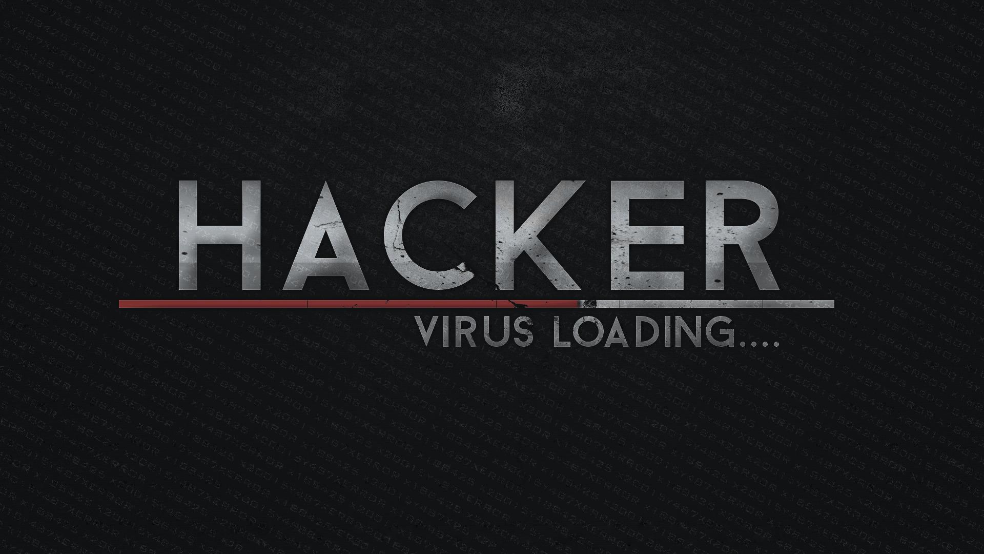technology hacker virus loading wallpaper