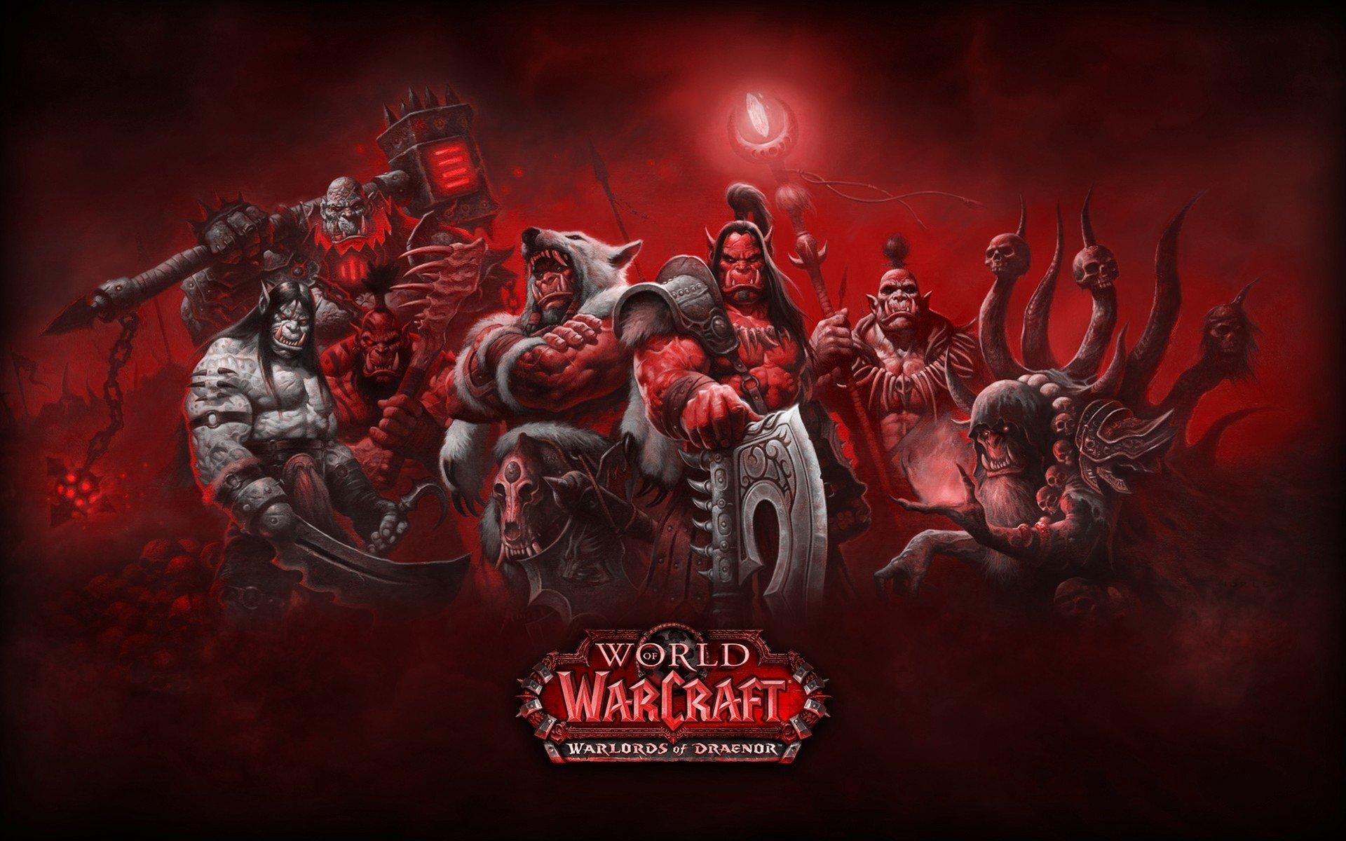 Warlords Of Draenor Fondo De Pantalla Hd Fondo De