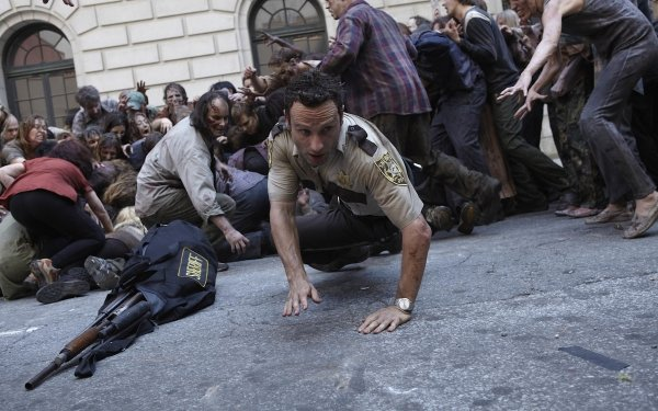 TV Show The Walking Dead Rick Grimes Andrew Lincoln Zombie HD Wallpaper   Background Image