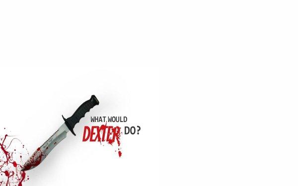 TV Show Dexter Knife White Blood HD Wallpaper | Background Image