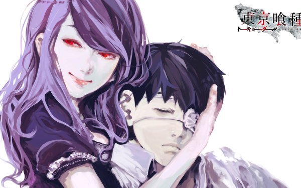 Anime Tokyo Ghoul Rize Kamishiro Ken Kaneki HD Wallpaper | Background Image